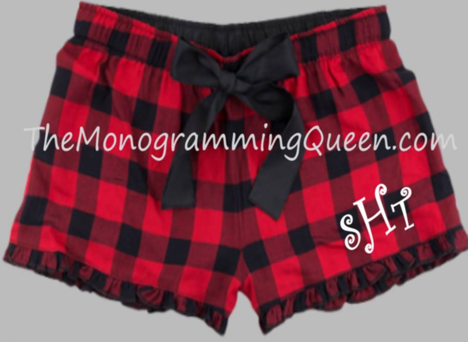 Monogram Buffalo Boxer shorts Pajamas