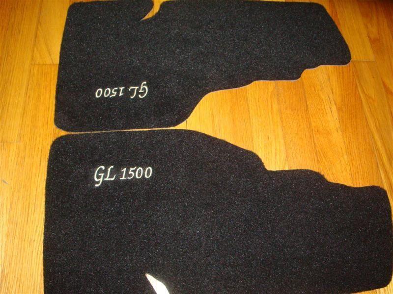 HONDA GL1500 ASPENCADE GOLDWING TRUNK SADDLE BAG MATS CARPET SADDLEBAG