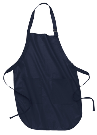 Monogram Apron with pocket 9 colors to choose from