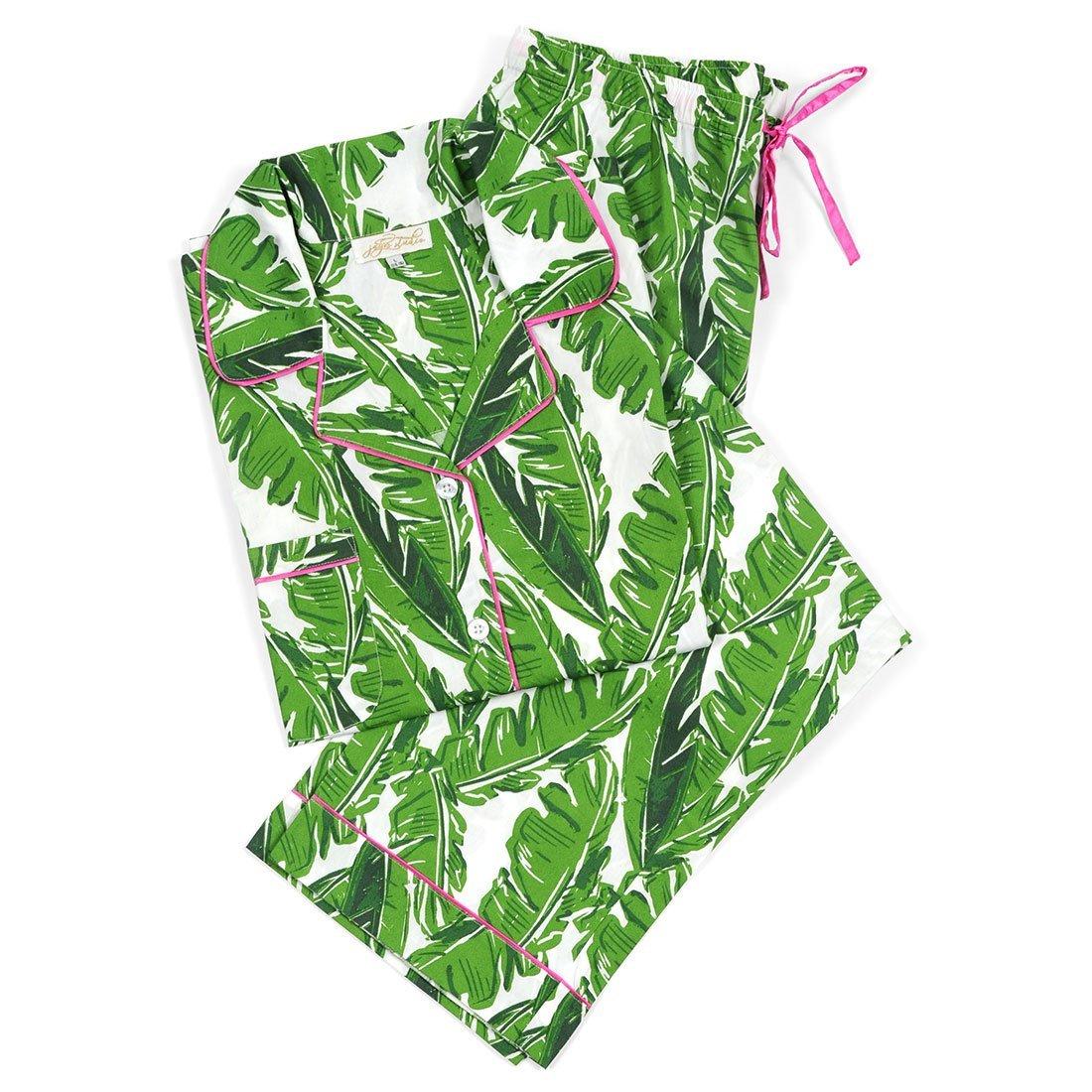 Monogram Banana Leaf Pajama Set