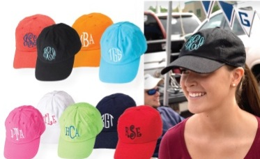 Monogram Baseball Hat-