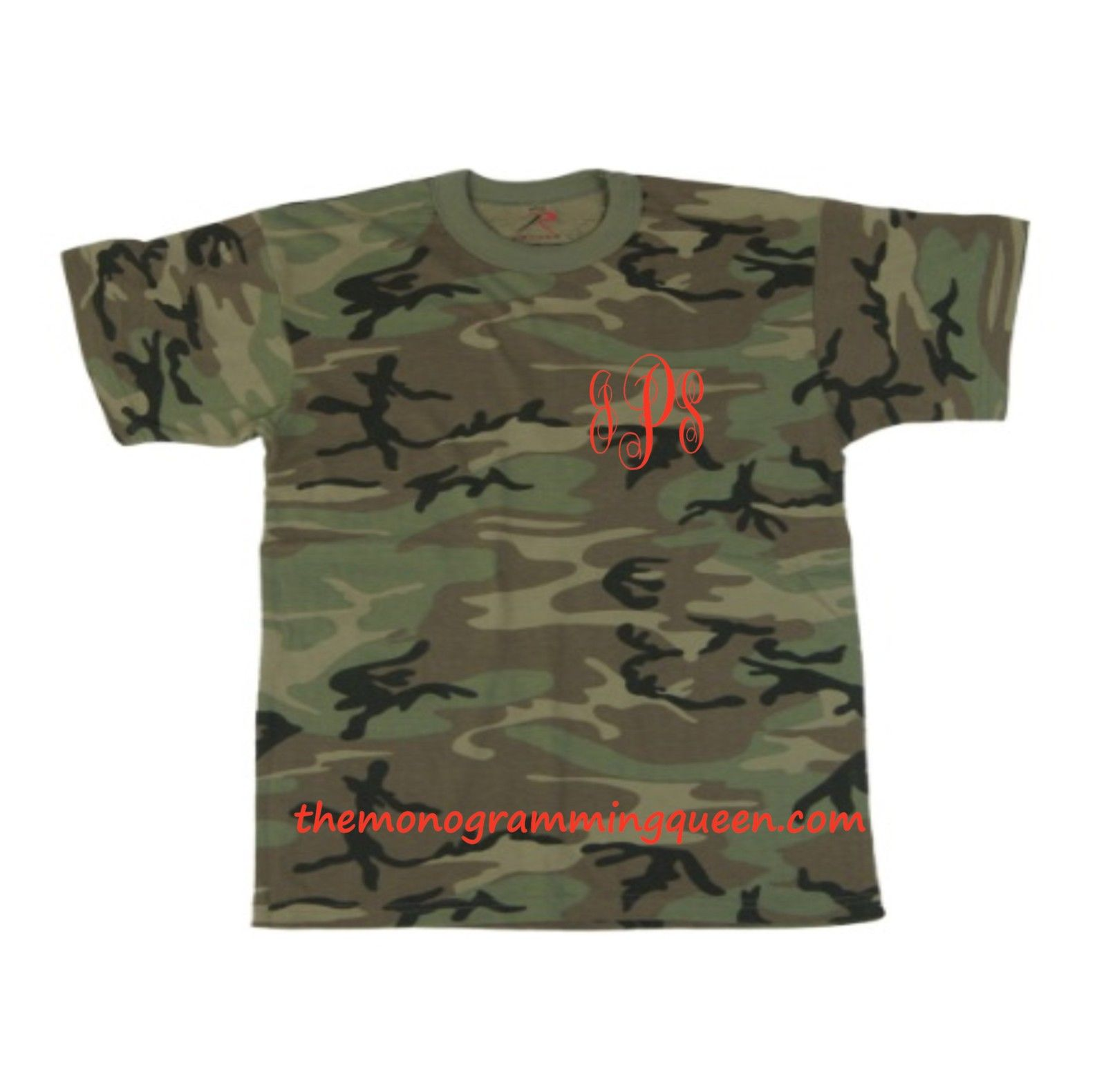 Monogram Camo Tee short sleeve