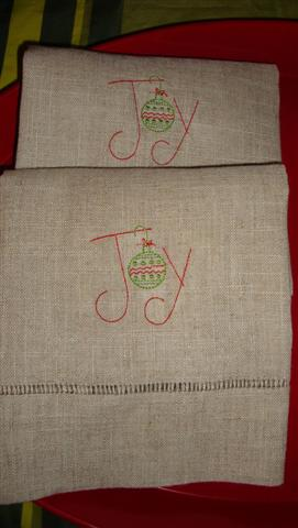 Joy Linen Hand Towel