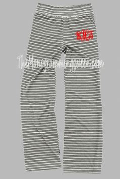 Monogram Gray Pajama set Adult sizes