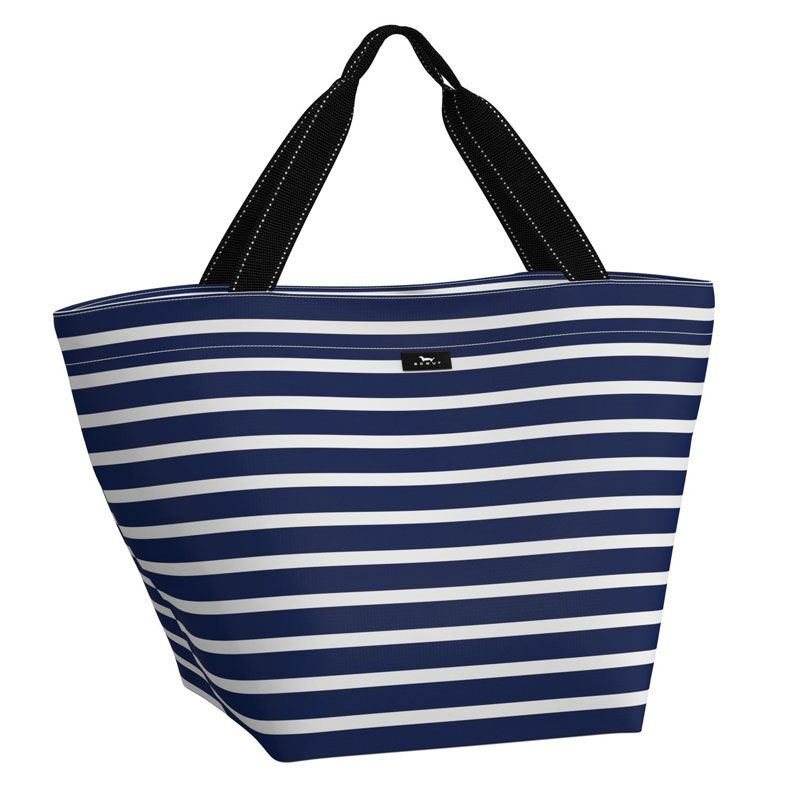 Monogram Scout Weekender tote Navy Stripe Nantucket