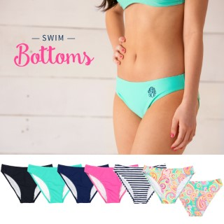 Monogram Swim Bikini Bottom