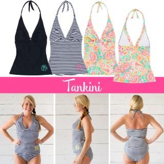 Monogram Swim Tankini