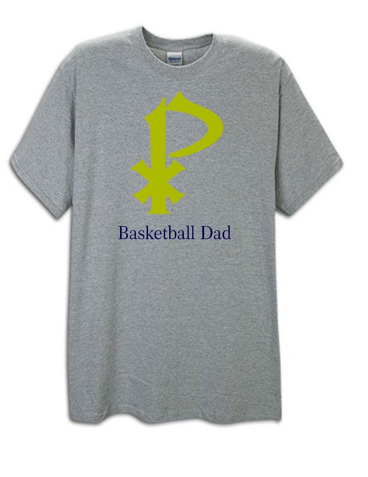 St. Pius Basketball Dad Tee