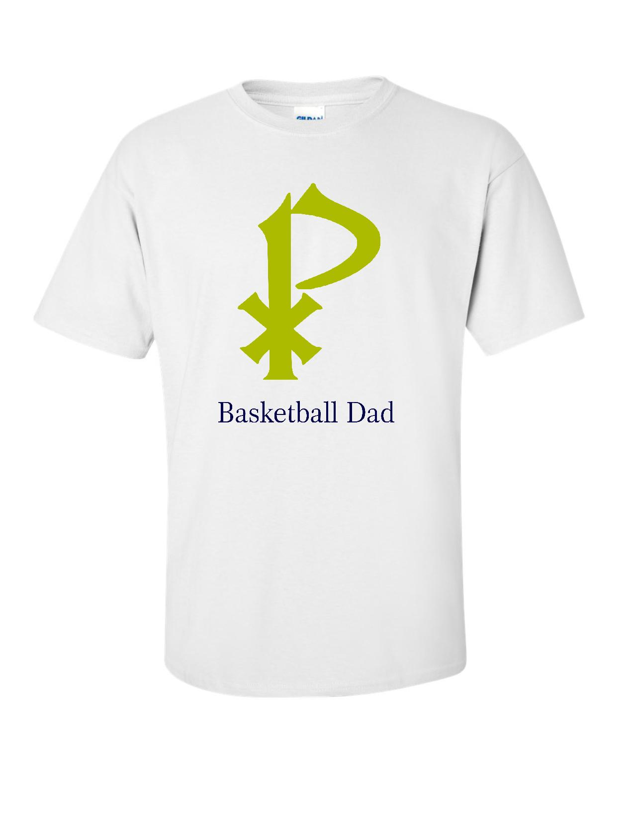 St. Pius Basketball Dad Tee