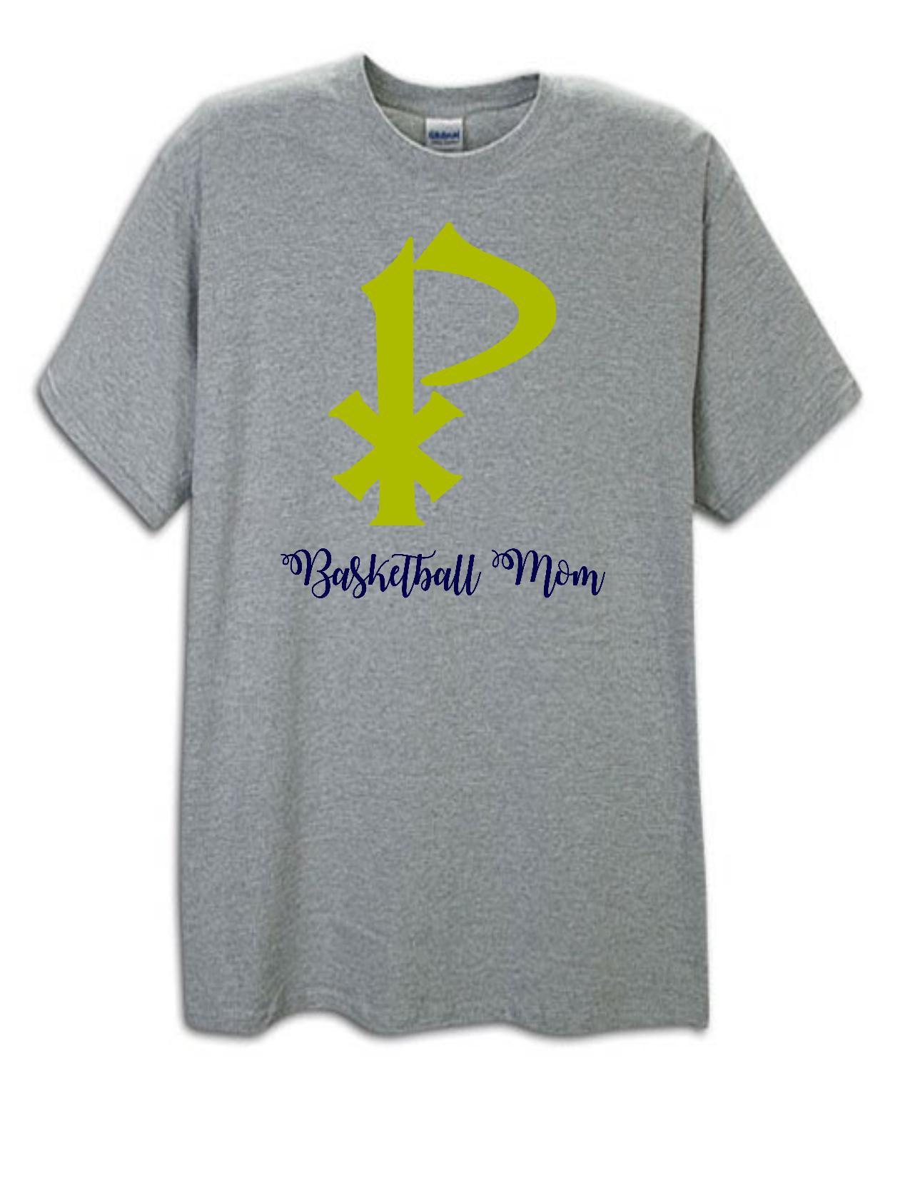 St. Pius X Basketball Mom Tee
