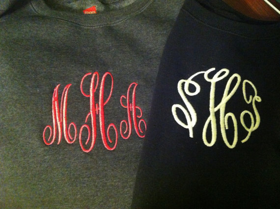 Big Monogram Sweatshirt-