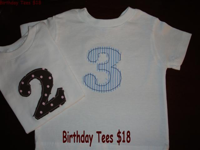 Birthday Tees-