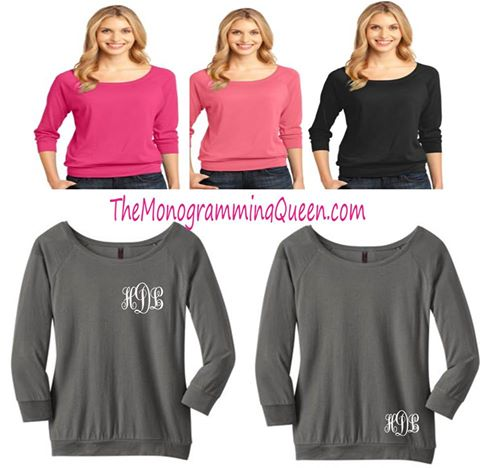 Monogram Perfect crewneck banded Tee