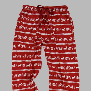 Monogram Sweater Flannel Pants Adult and Youth