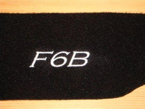 HONDA GOLD WING F6B CRUISER SADDLEBAG MAT SET CARPET