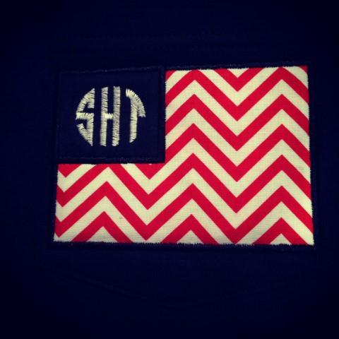 Monogram Flag Tee