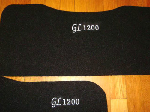 Honda Goldwing GL1200 1200 CUSTOM SADDLEBAG & TRUNK MAT SET