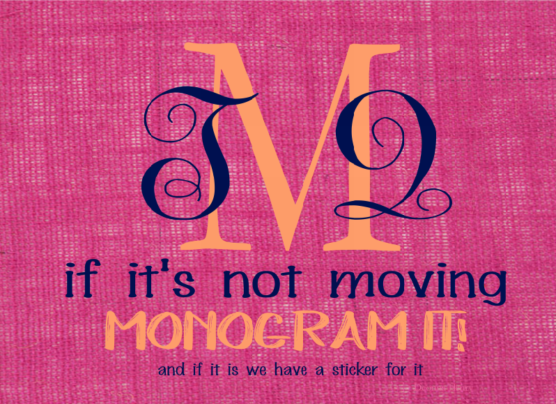 The Monogramming Queen