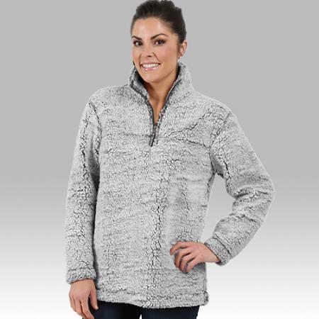 Sherpa 1/4 pullover super super soft