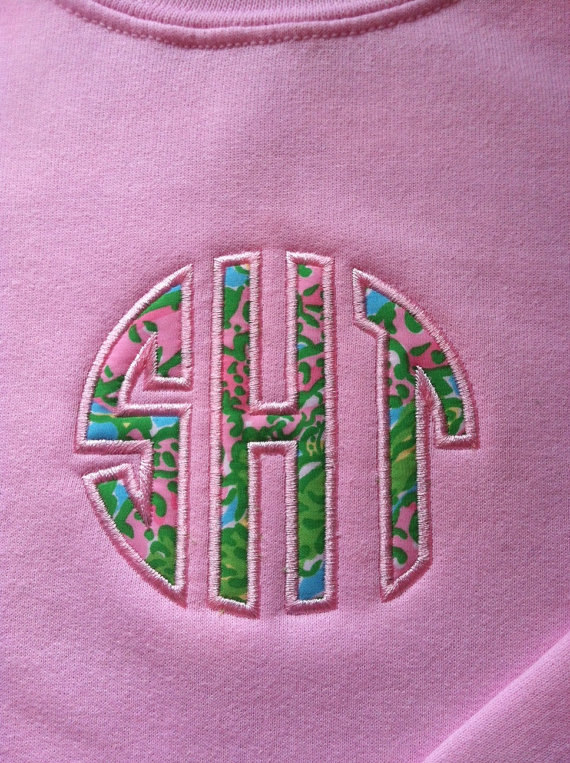Lilly Pulitzer Monogram Crewneck Sweatshirt