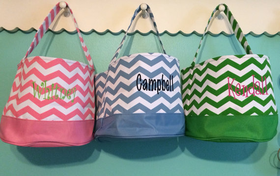Chevron Easter Basket-