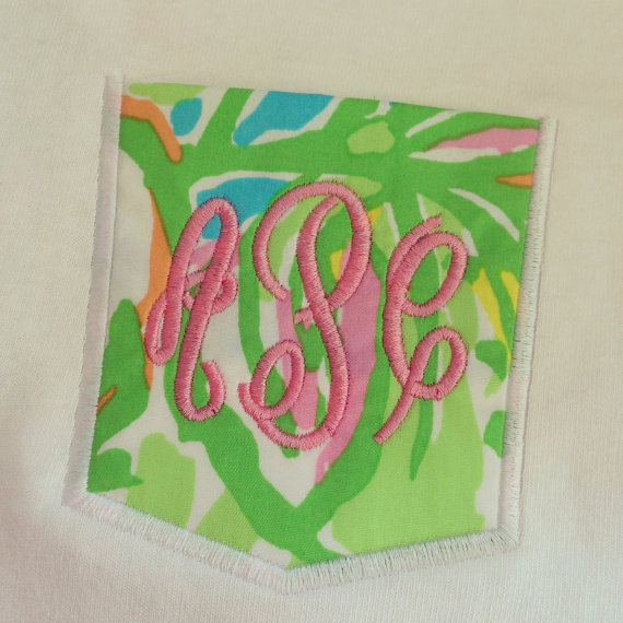Lilly Pulitzer Elephant Ears Pocket Tee