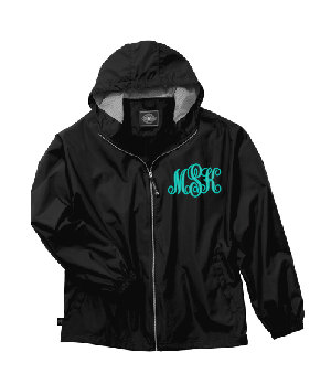 Monogram Full Zip Windbreaker