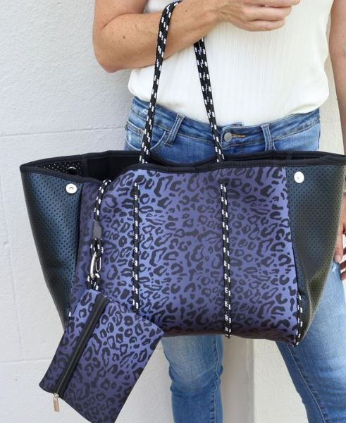 Neoprene Tote with zipper pouch