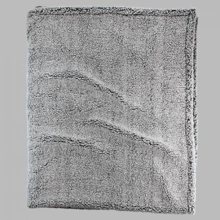Monogram Sherpa Blanket 50x60