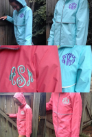 Monogram New England Rain Jacket Wind and Rain