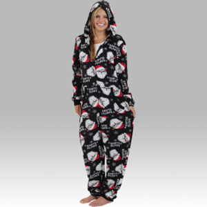 Christmas Hooded Pajama Onesie