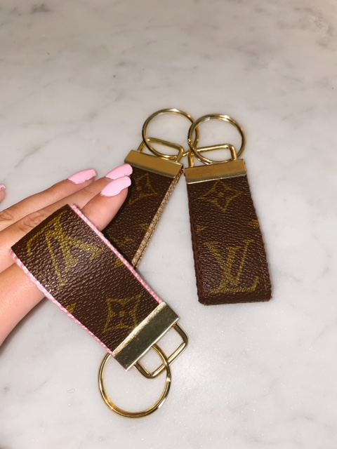 Authentic Repurposed Louis Vuitton Small Key Chain