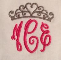 Monogram Tiara Tee shirt